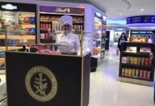 Lindt Store opening JFK Store, Terminal 1