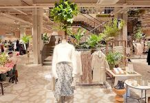 H&M planning cafe and florist trials...