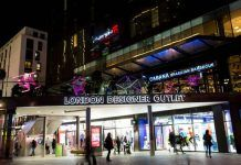 London Designer Outlet has posted 21st straight quarter of growth.