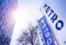 Wholesaler Metro AG said that its first quarter like-for-like sales were up 2.3% ...