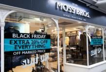 Moss Bros toasts sales improvement despite like-for-likes dip