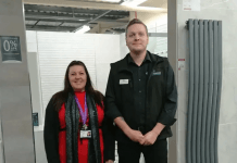 Bathroom firm opens showroom in Fareham and shows its caring side...