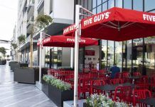 American burger and fries brand, Five Guys has announced its seventh opening in the UAE at Meraas' City Walk.