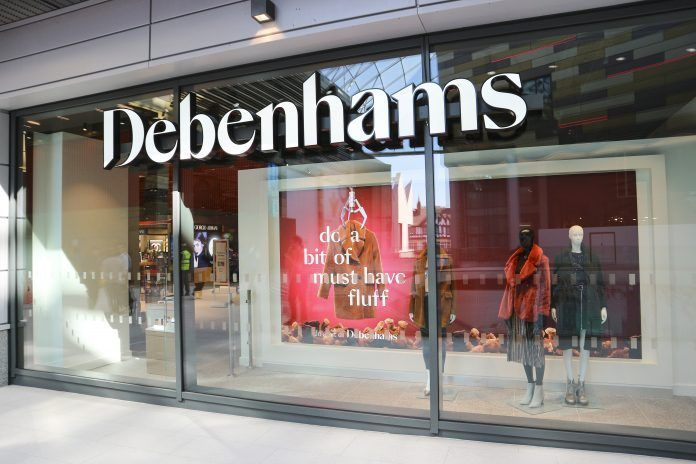 Sports Direct considers 61 million pound offer for Debenhams