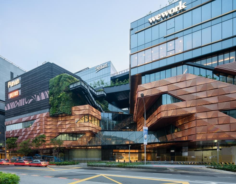 Funan is embedded with a great ambition to redefine new mixed-use and build communities. 2