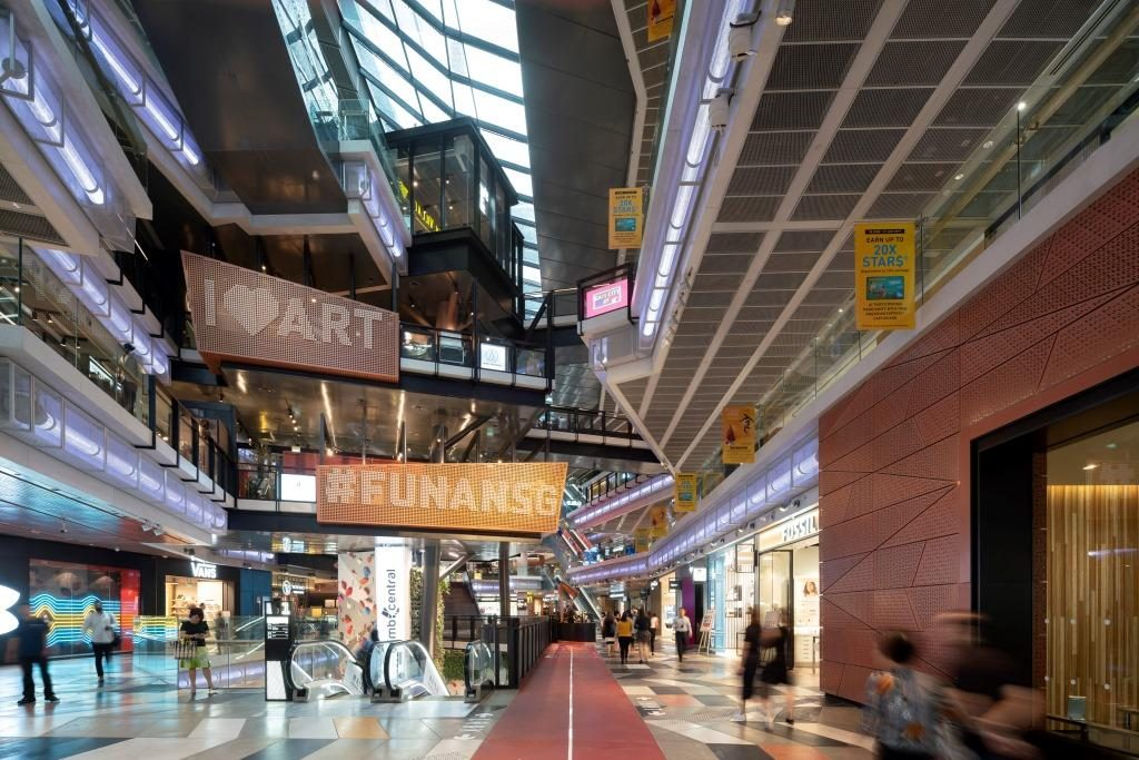 Funan is embedded with a great ambition to redefine new mixed-use and build communities. 3