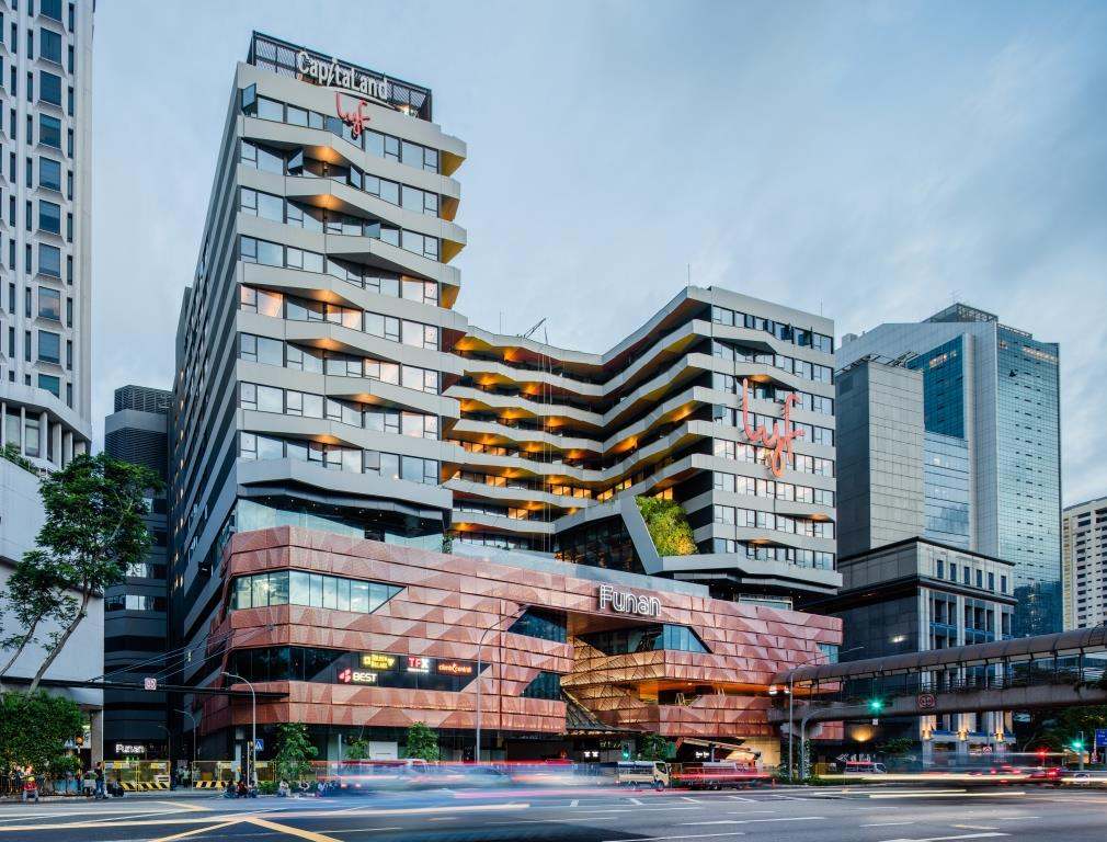 Funan is embedded with a great ambition to redefine new mixed-use and build communities. 6