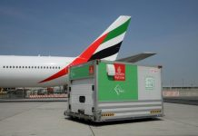 Emirates SkyCargo transported over 400,000 tonnes of perishables across the world in 2018 out of which more than 70,000 tonnes was seafood.