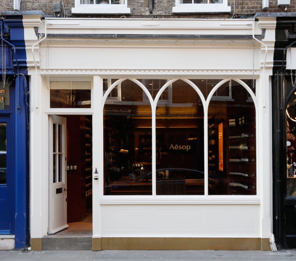 AESOP joins Beauty Mecca of Monmouth Street, Seven Dials