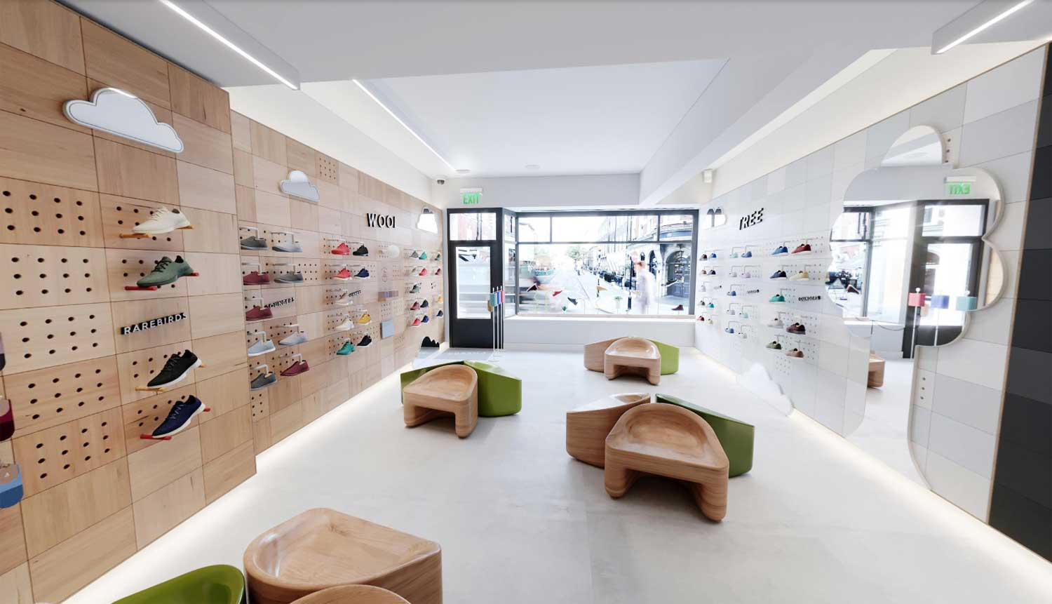 physical retail with second UK store