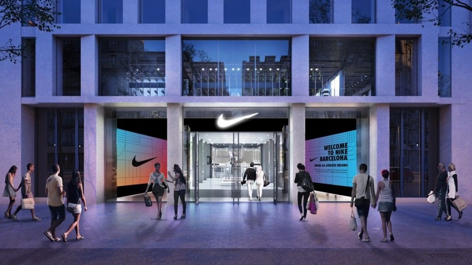 Fuera falta de aliento frutas  Nike Opens New Barcelona Flagship | Retail & Leisure International